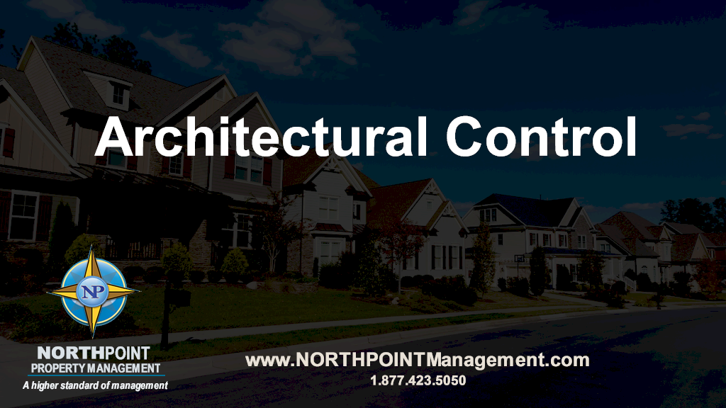 A Main Consideration For Living In An Association Is Architectural Control
